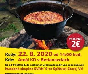 Súťaž vo varení gulášu | Betlanovce 22.8.2020
