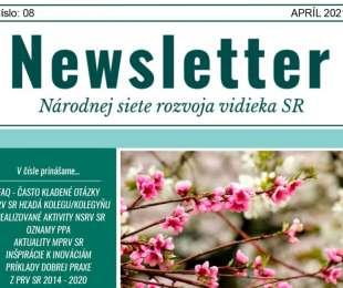 NEWSLETTER Národnej siete rozvoja vidieka SR | 08/2021