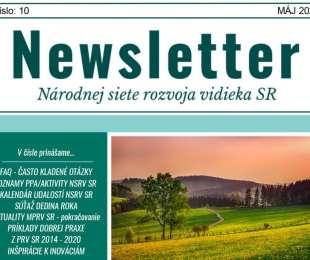NEWSLETTER Národnej siete rozvoja vidieka SR | 10/2021